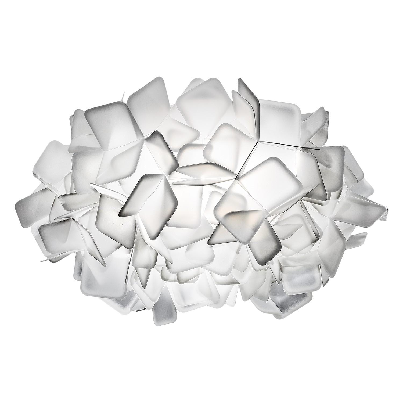 energie  A++, Plafondlamp Clizia - Opalflex wit 2 lichtbronnen, Slamp