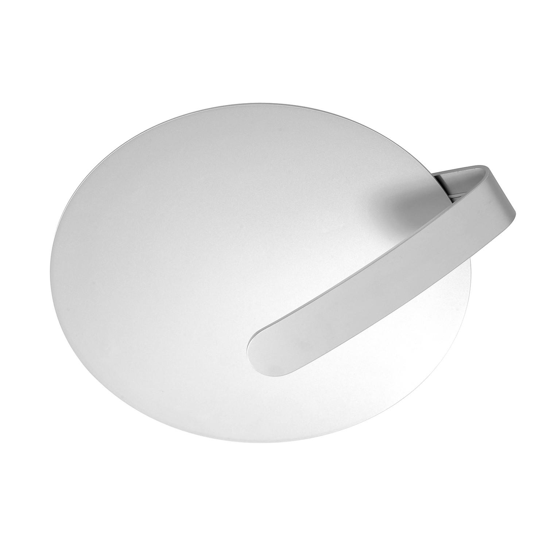 energie  A+, Plafondlamp Cub - aluminium zilverkleurig 1 lichtbron, Paul Neuhaus
