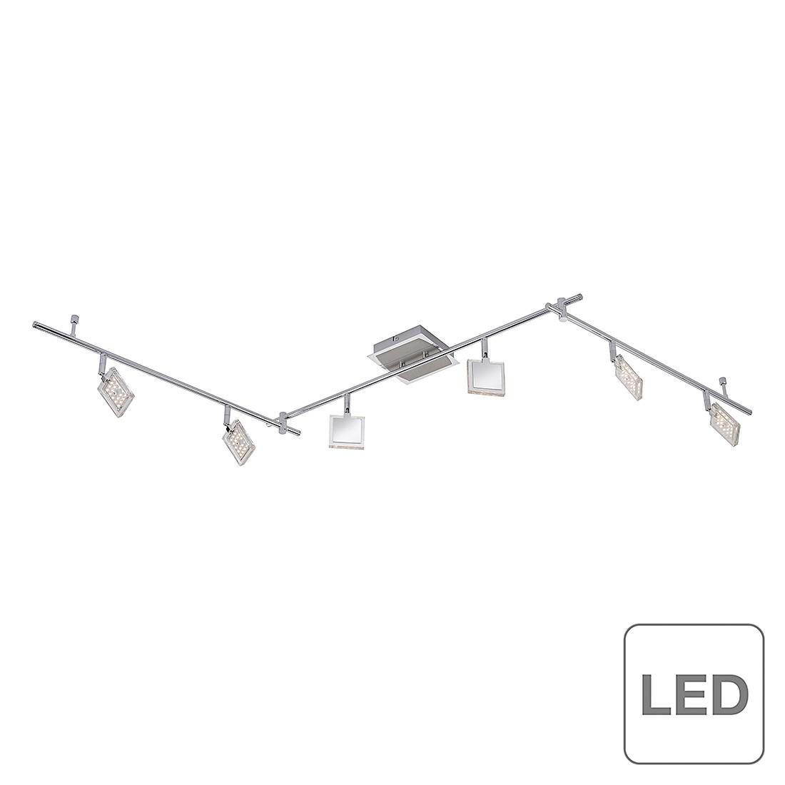 energie  A+, Plafondlamp DI - mat nikkel - 108 lichtbronnen, Paul Neuhaus