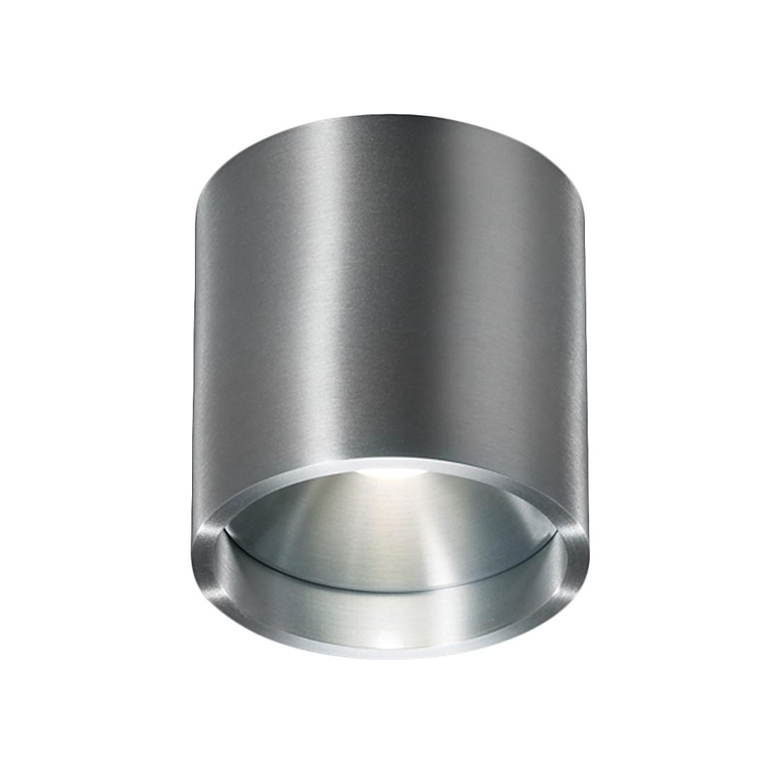 energie  A+, Plafondlamp DORA 1- zilverkleurig metaal, Helestra