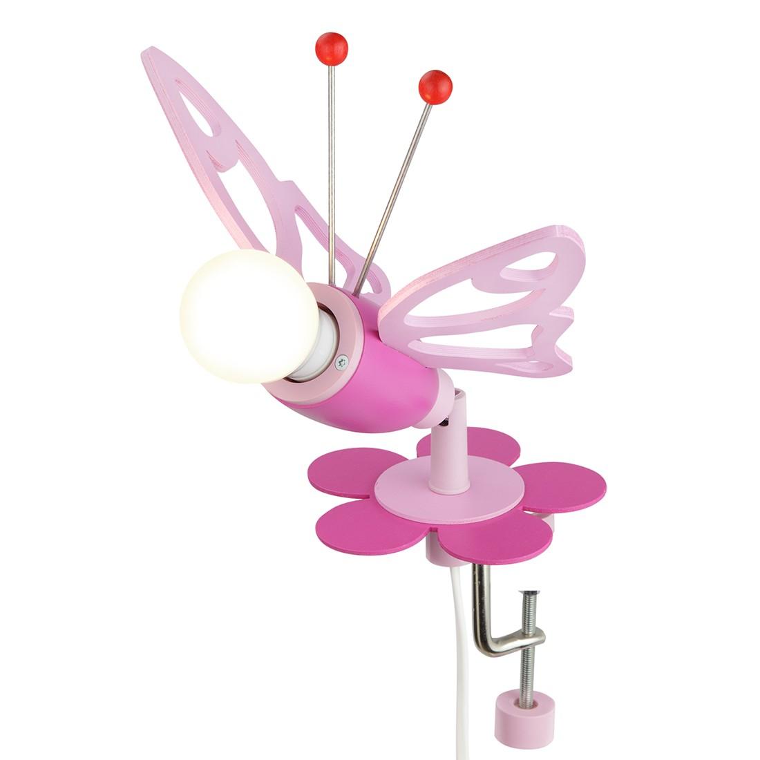 energie  A++_ Plafondlamp Vlinders   hout 1 lichtbron_ Elobra