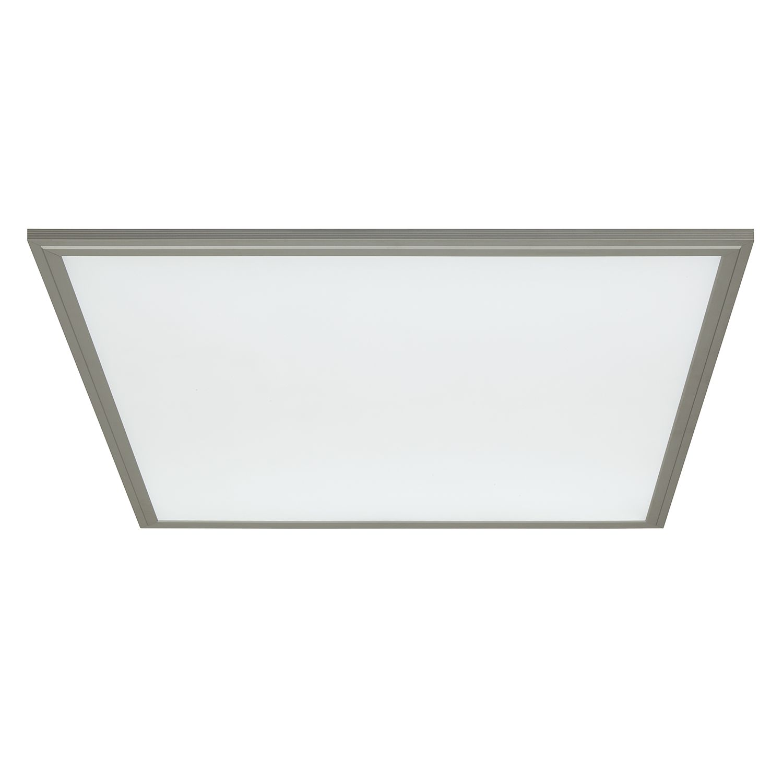 energie  A+, LED-plafondlamp Flat II - kunststof/aluminium - 1 lichtbron, Brilliant