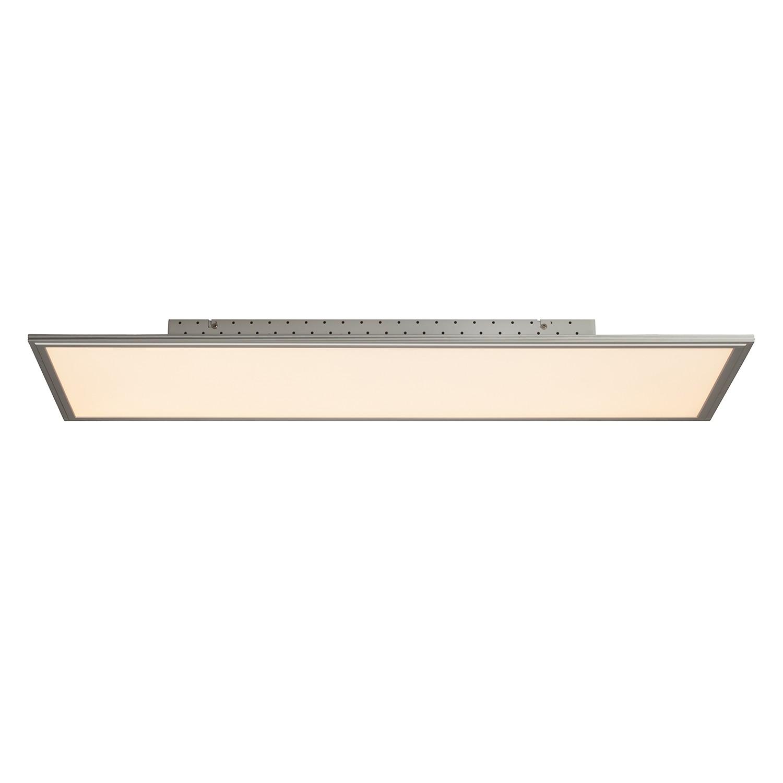 energie  A+, LED-plafondlamp Flat III - kunststof/aluminium - 1 lichtbron, Brilliant