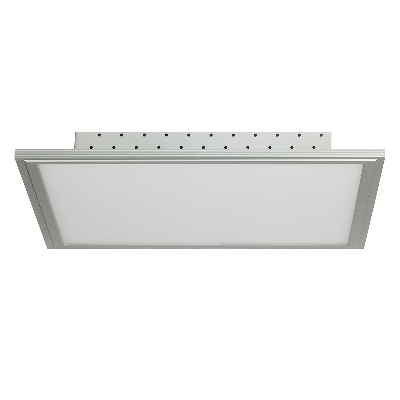 energie  A+, LED-plafondlamp Flat I - kunststof/aluminium - 1 lichtbron, Brilliant