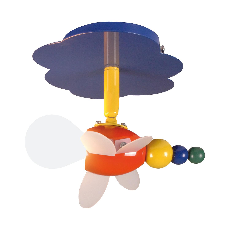 EEK A++, Deckenleuchte Fly - Metall/ Kunststoff - Multicolor - 1-flammig, Näve