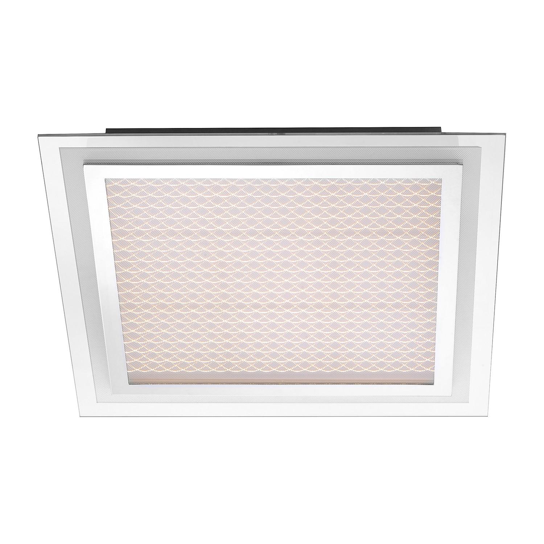 energie  A+, Plafondlamp Foil - ijzer zilverkleurig 9 lichtbronnen, Paul Neuhaus