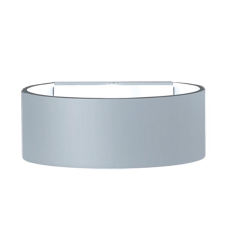 energie  A+, Buitenlamp Fosca 44 - aluminium zilverkleurig, Helestra