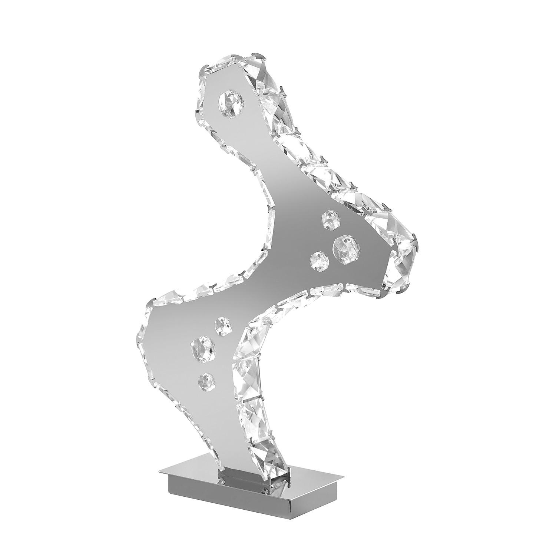 energie  A+, Plafondlamp IJola - ijzer zilverkleurig 5 lichtbronnen, Paul Neuhaus
