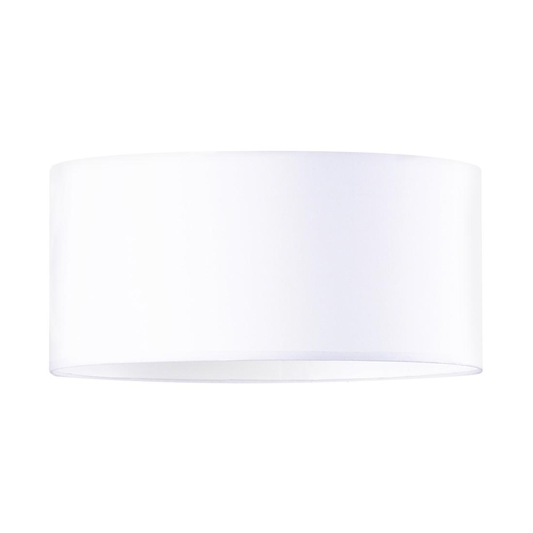 EEK A++, Deckenleuchte - Metall/Textil - Weiß - 2-flammig, Honsel