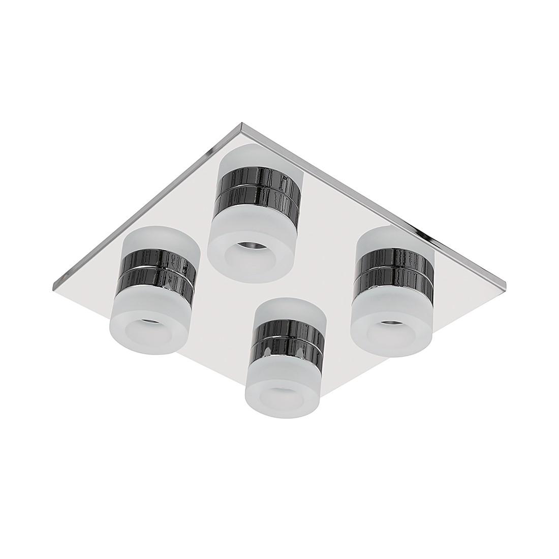 energie  A+, Plafondlamp LOGAN - metaal/kunststof - 4 lichtbronnen, Wofi