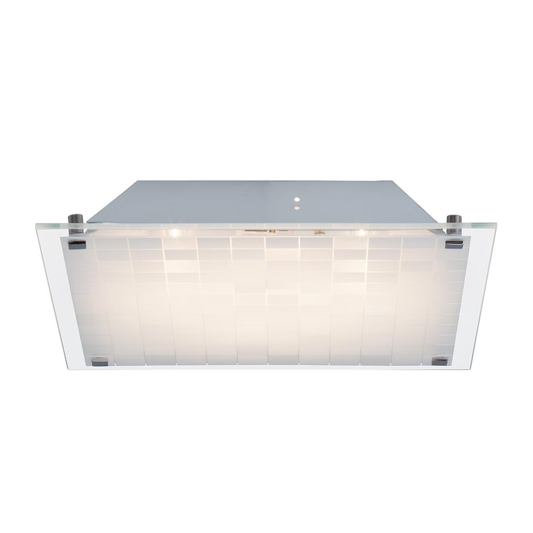 energie  A+, Plafondlamp Malinda - metaal/zilverkleurig metaal 1 lichtbron, Brilliant