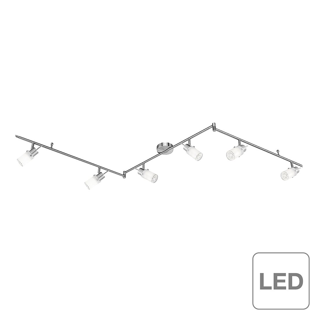 energie  A++, Plafondlamp Max led - 6 lichtbronnen, Leuchten Direkt
