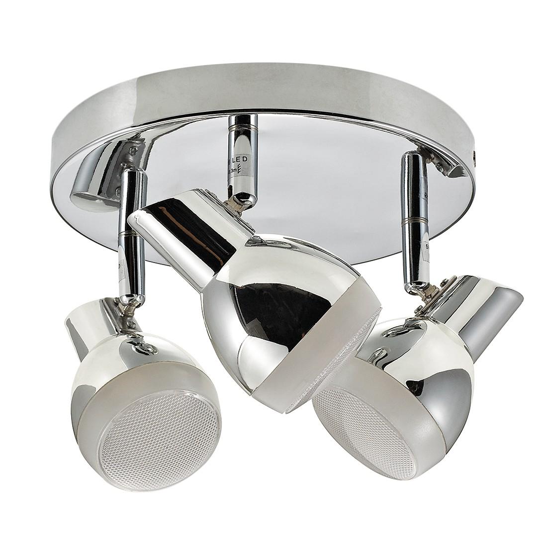 energie A+, Plafondlamp NANTES zilverkleurig metaal 3 lichtbronnen, Action