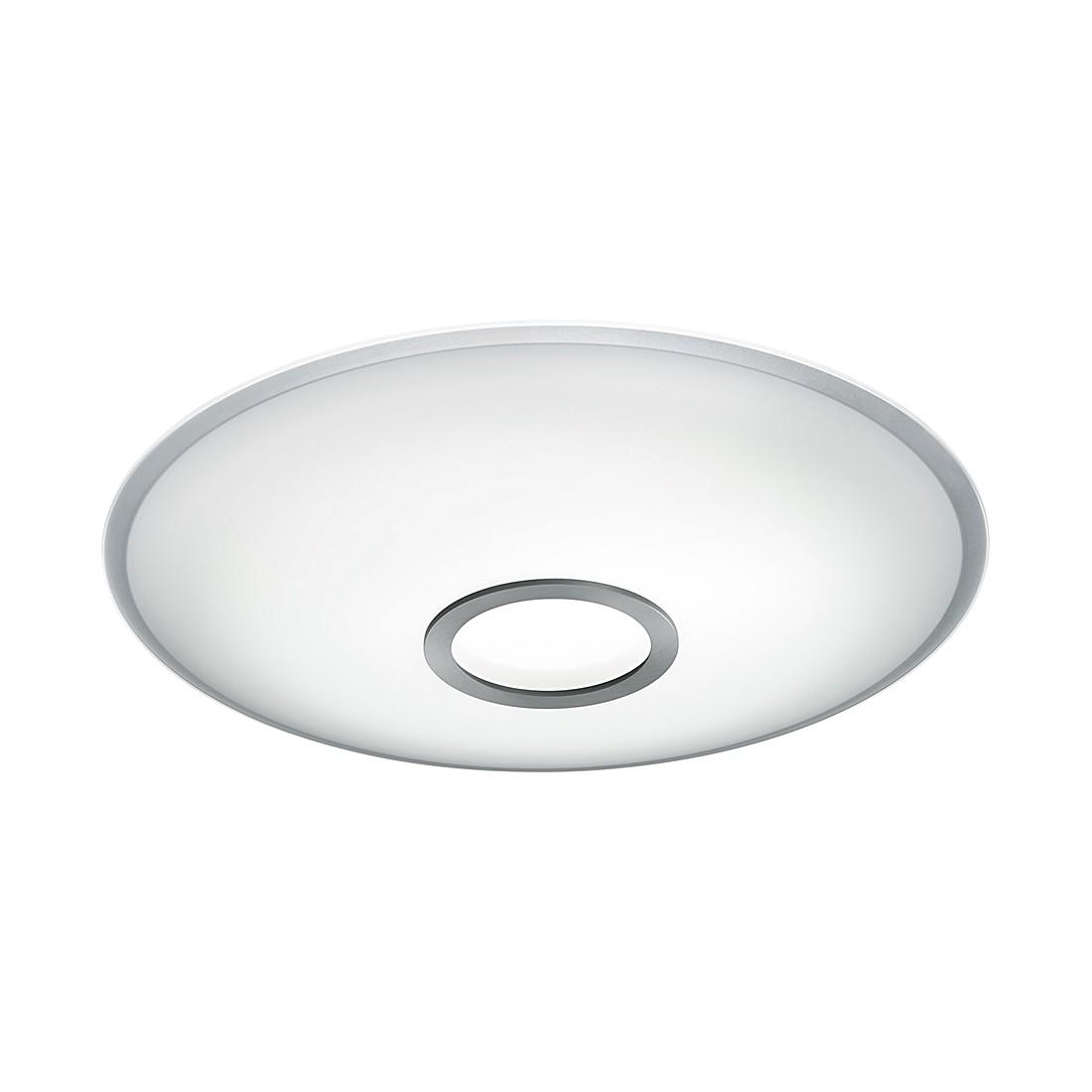energie  A+, Plafondlamp NUNO - metaal/zilverkleurig glas, Helestra