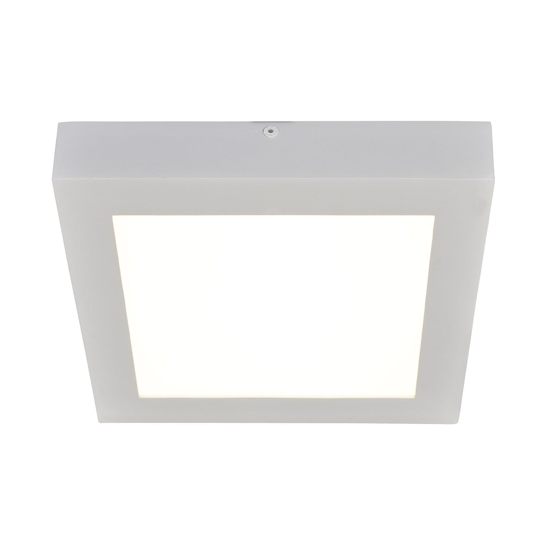 energie  A+, Plafondlamp Panels - aluminium zilverkleurig, Näve