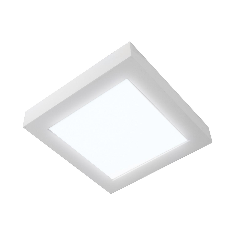energie  A+, Plafondlamp Panels - aluminium wit, Näve