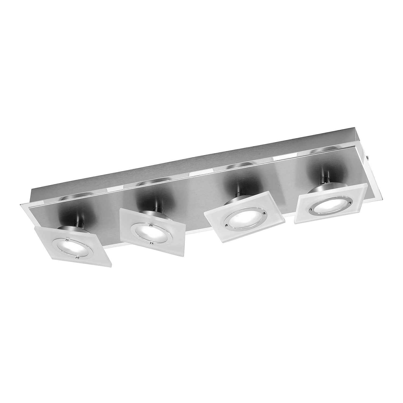EEK A++, LED-Deckenleuchte Rotator - Aluminium ...