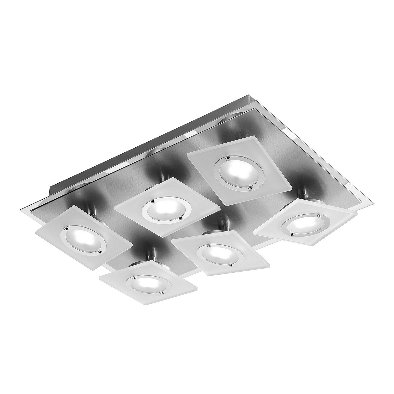 EEK A+, LED-Deckenleuchte Rotator - Aluminium -...