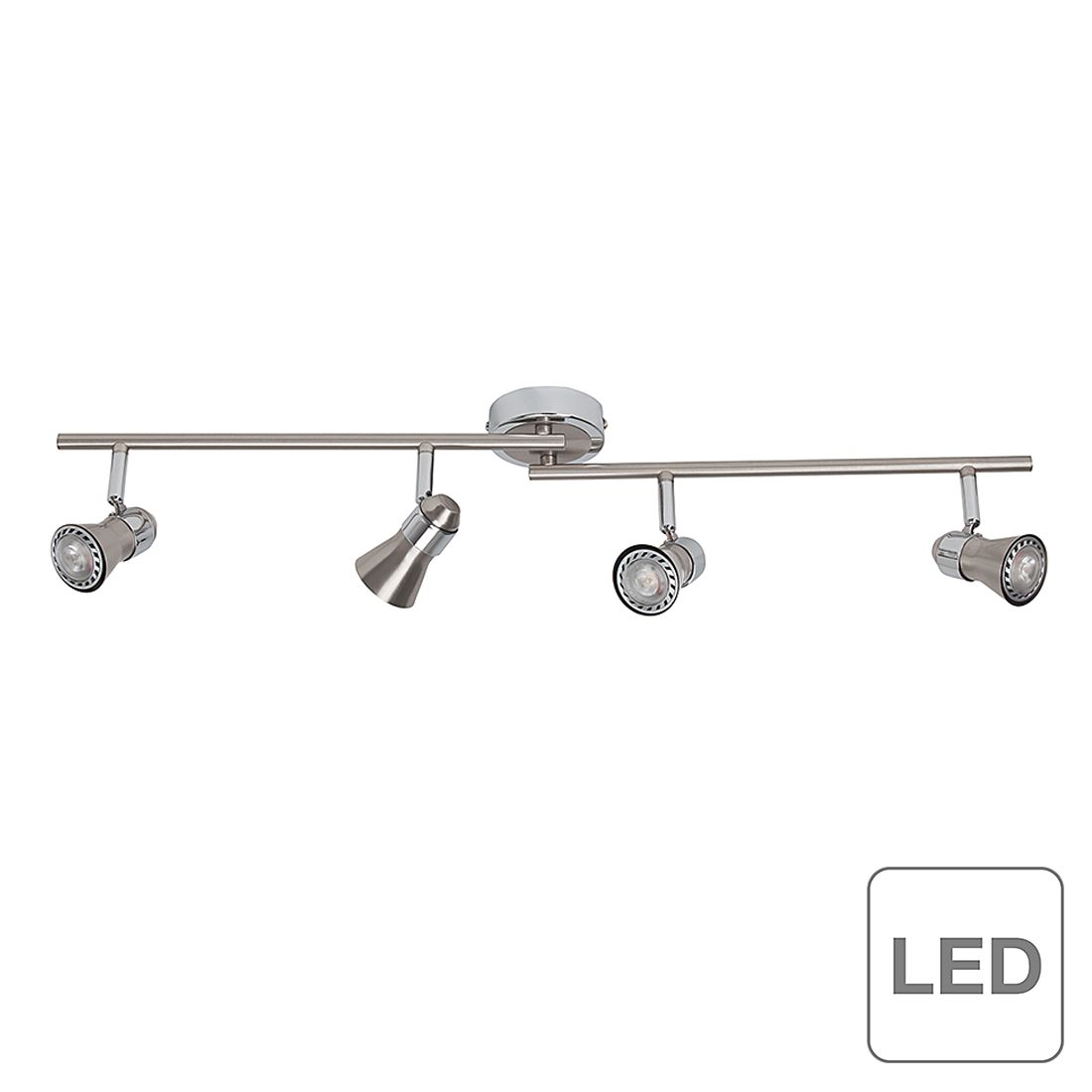 energie  A++, Plafondlamp Sanny - 4 lichtbronnen, Brilliant