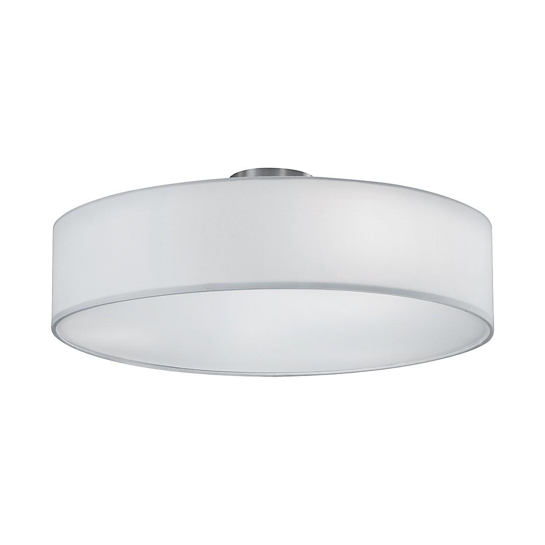 energie  A++, Plafondlamp - nikkelkleurig/wit 3 lichtbronnen, Trio