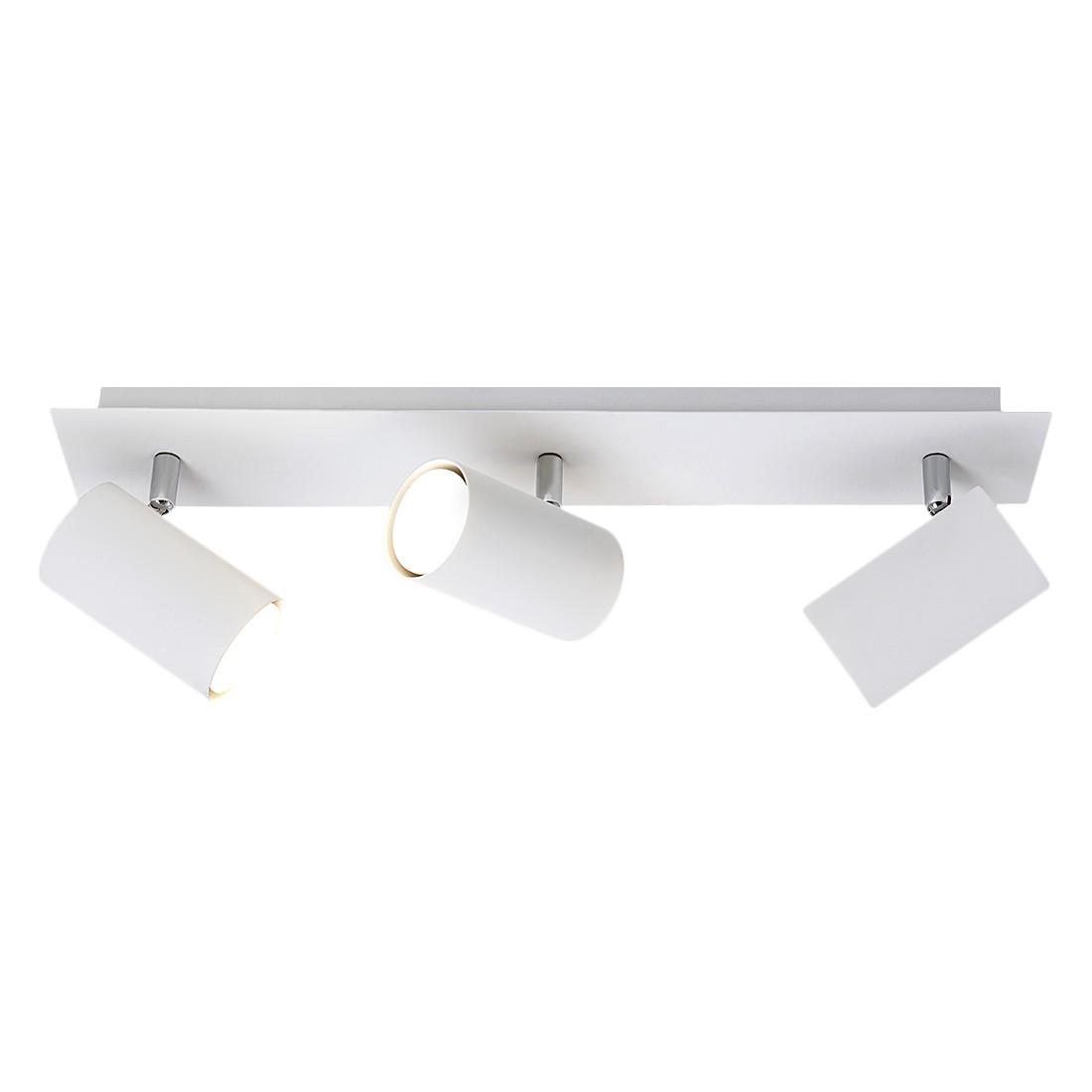 energie  A++, Plafondlamp - wit 3 lichtbronnen, Trio