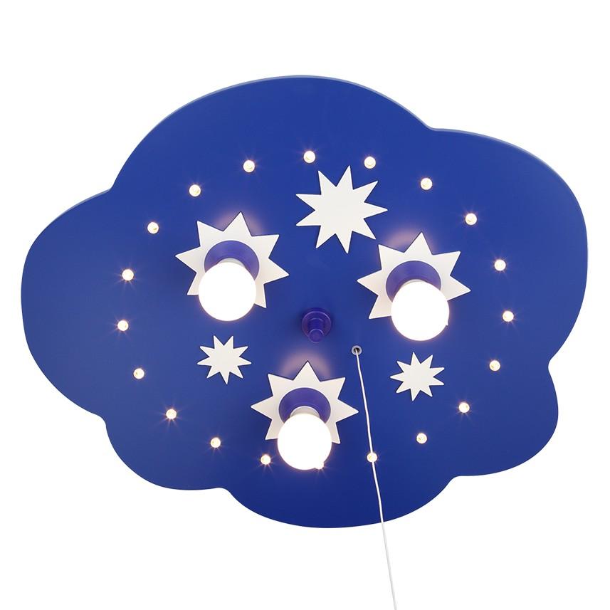 Home 24 - Eek a+, plafonnier nuage d étoiles 3 / 20 - bois ampoules, elobra