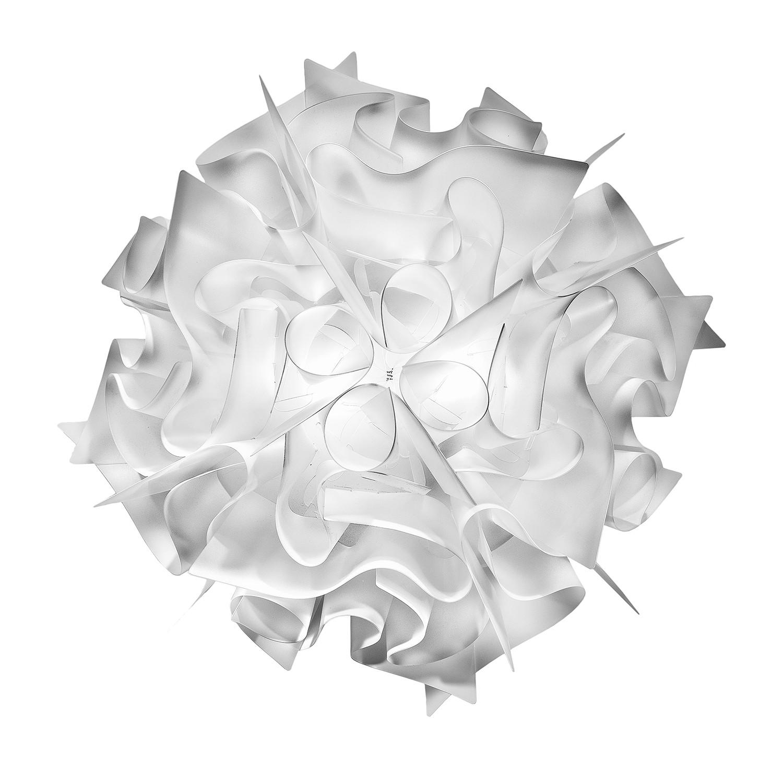 EEK A++, Deckenleuchte Veli 2-flammig - Weiß Opalflex, Slamp bei Home24 - Lampen