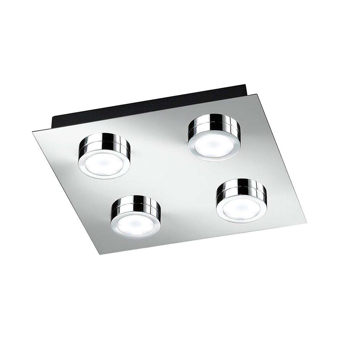 energie A+, Plafondlamp VENETA metaal-kunststof 4 lichtbronnen, Action