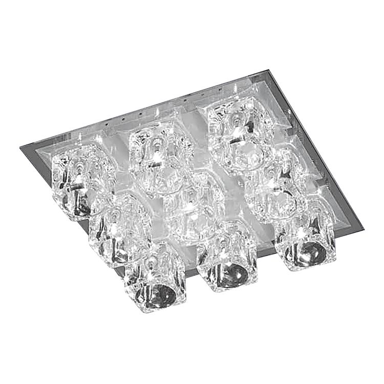 energie  A+, Plafondlamp Vision - 7 tot 10 lichtbronnen, Action
