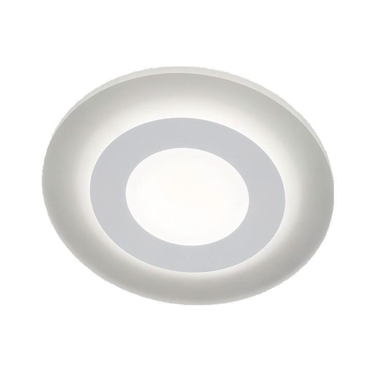EEK A+, Deckenleuchte WES - Metall/Kunststoff - Weiß, Helestra