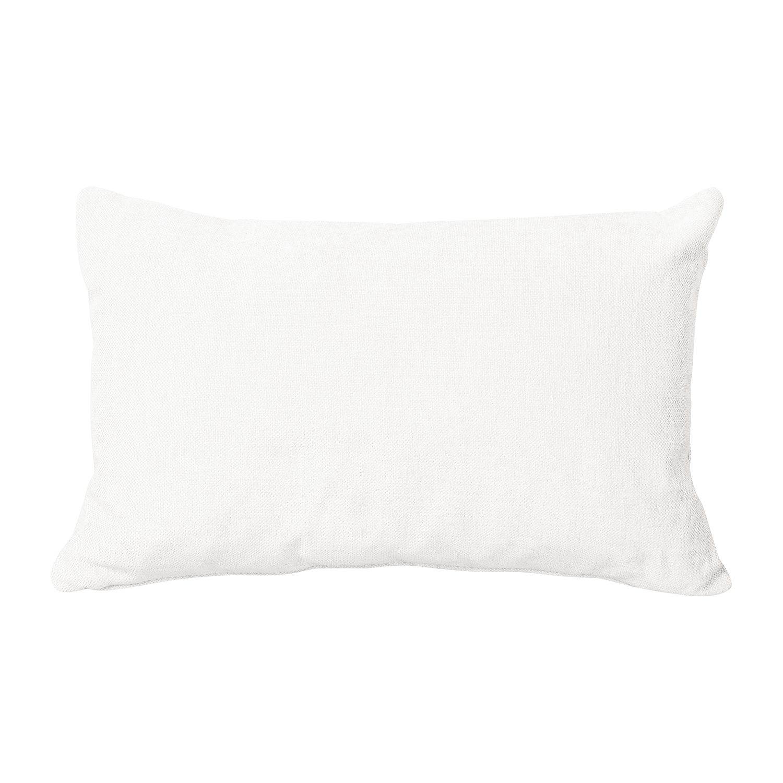 Home 24 - Coussin drulf iii - tissu - blanc neige, says who
