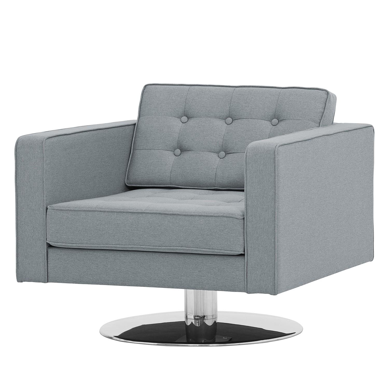 drehsessel chelsea webstoff stoff selva grau online bestellen. Black Bedroom Furniture Sets. Home Design Ideas