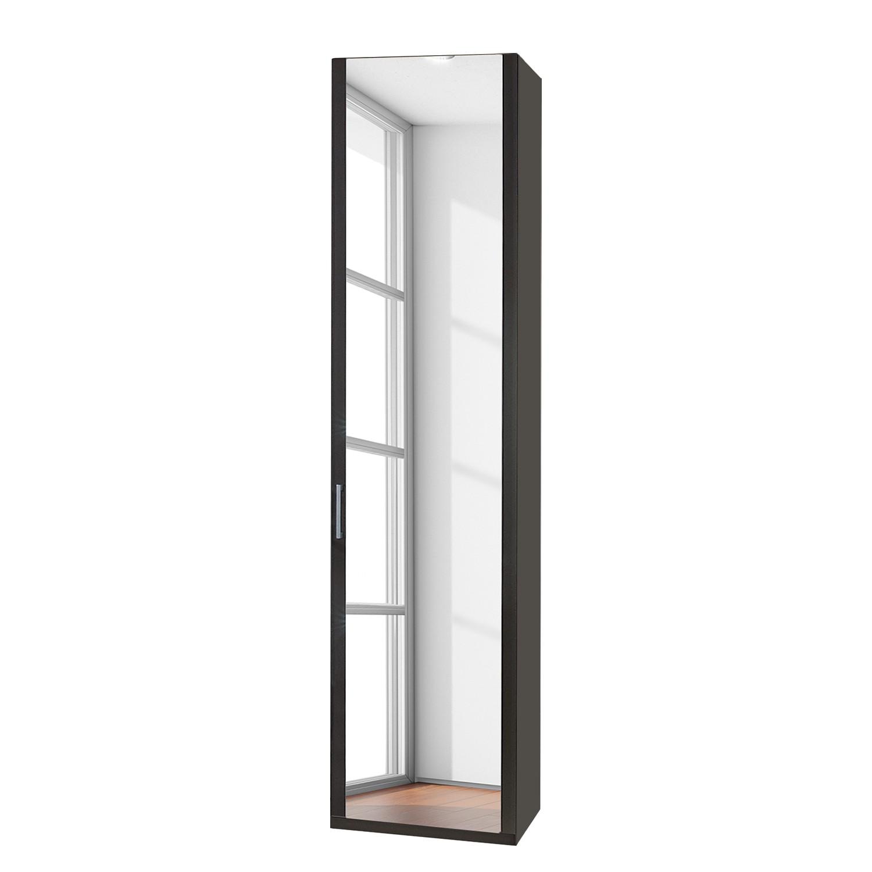 Draaideurkast Arizona Sleep - Havanna - 51cm (1-deurs) - scharnieren rechts - 1 spiegeldeur - scharnieren rechts - Zonder Passe-partout lijst, Wiemann