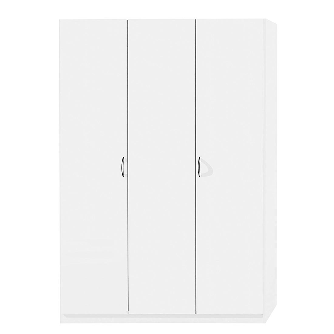 Armoire à portes battantes Case I - Blanc alpin - 91 cm - 2 portes - Standard, Rauch Packs