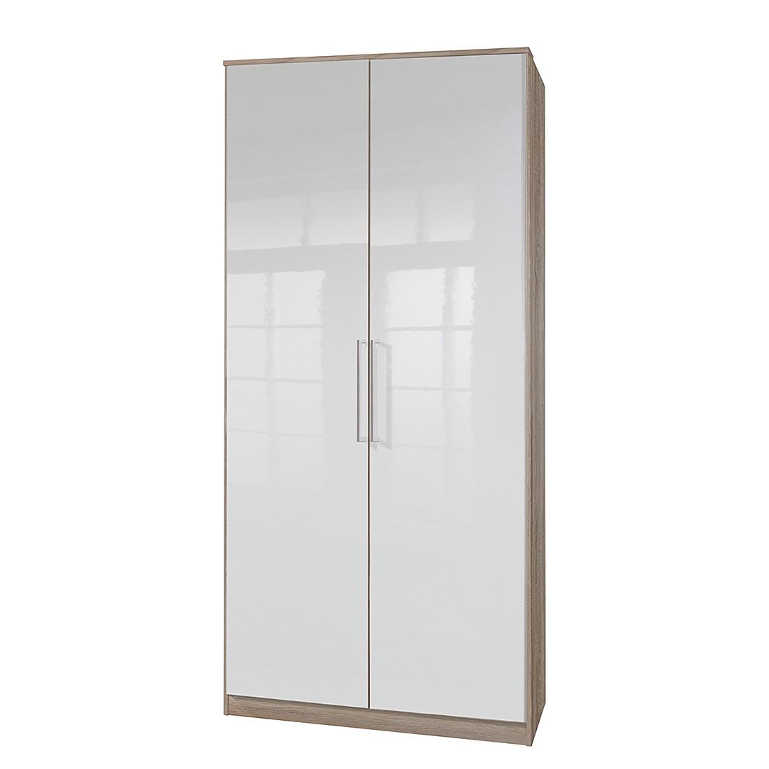 2х-дверный распашной шкаф гламур 4 белый глянец ищите здесь!.