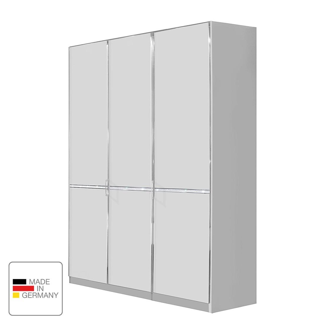 Armoire à portes battantes Dubai - Blanc alpin - 50 cm (1 portes) - butoir à gauche - Sans cadre pas