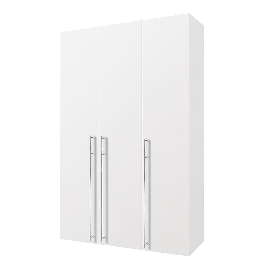 Armoire à portes battantes Brooklyn I - Blanc polaire - 150 cm (3 portes) - 216 cm, Express Möbel