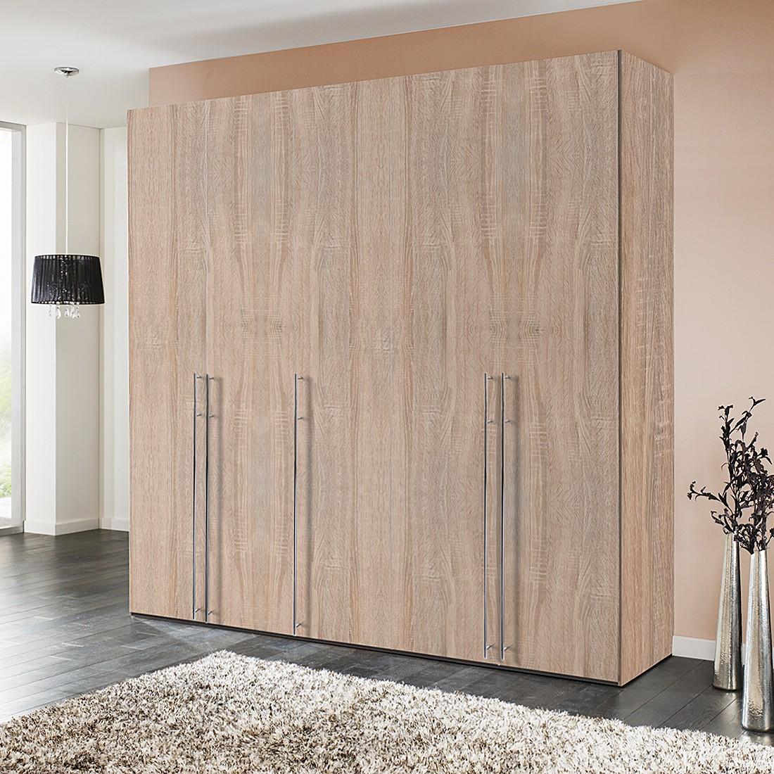Draaideurkast Brooklyn IV - eikenhouten look - 250cm (5-deurs) - 236cm, Express Möbel