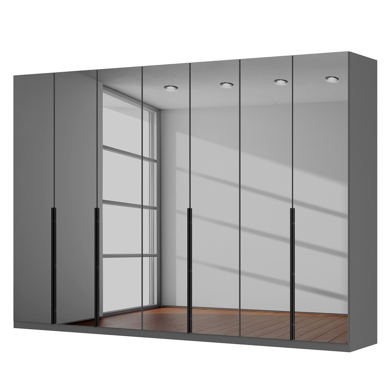 Drehtürenschrank SKØP - Grauspiegel - 315 cm (7-türig) - 222 cm - Classic