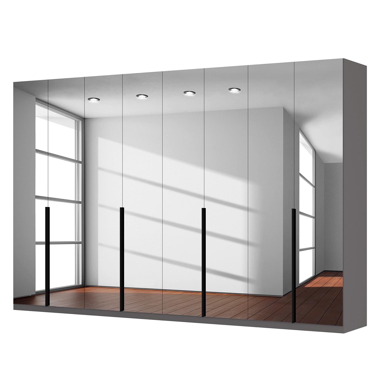 Drehtürenschrank SKØP - Grauspiegel - 360 cm (8-türig) - 236 cm - Premium
