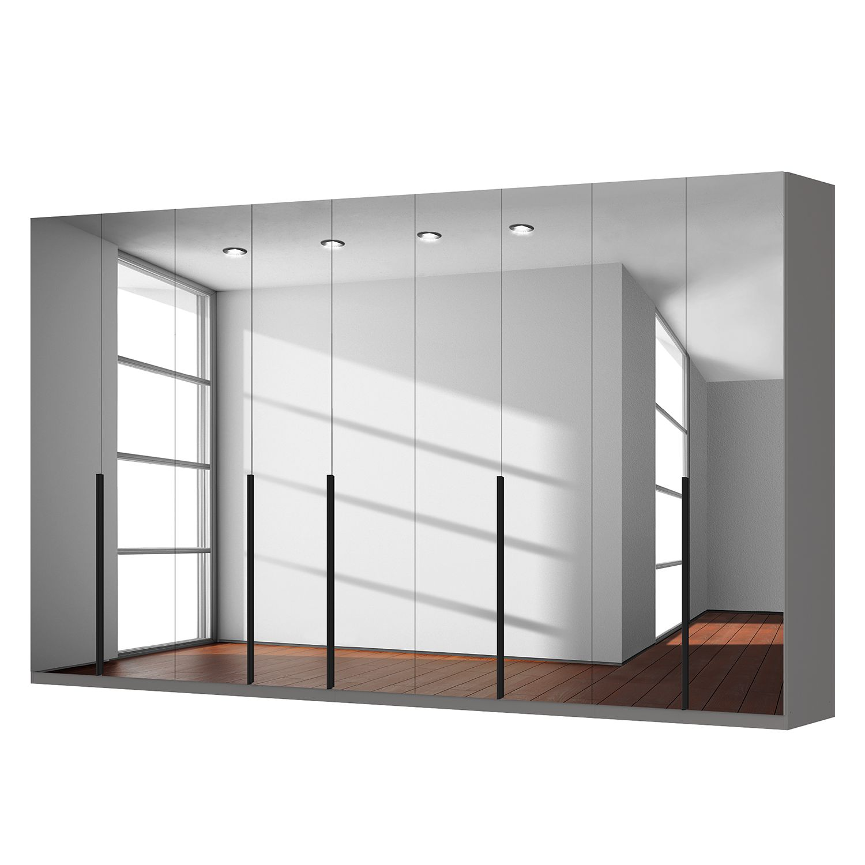 Drehtürenschrank SKØP - Grauspiegel - 405 cm (9-türig) - 236 cm - Basic