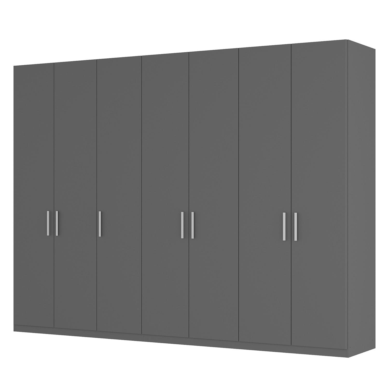 Draaideurkast Skøp I - grafietkleurig - 315cm (7-deurs) - 236cm - Classic, SKØP