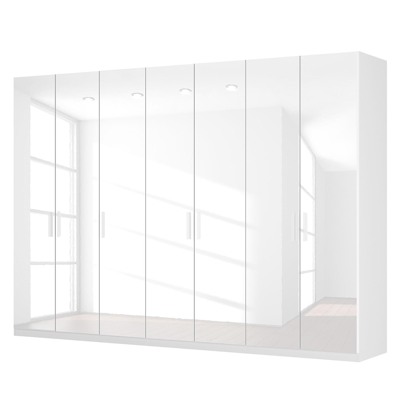 Draaideurkast Skøp I - hoogglans wit - 315cm (7-deurs) - 222cm - Comfort, SKØP