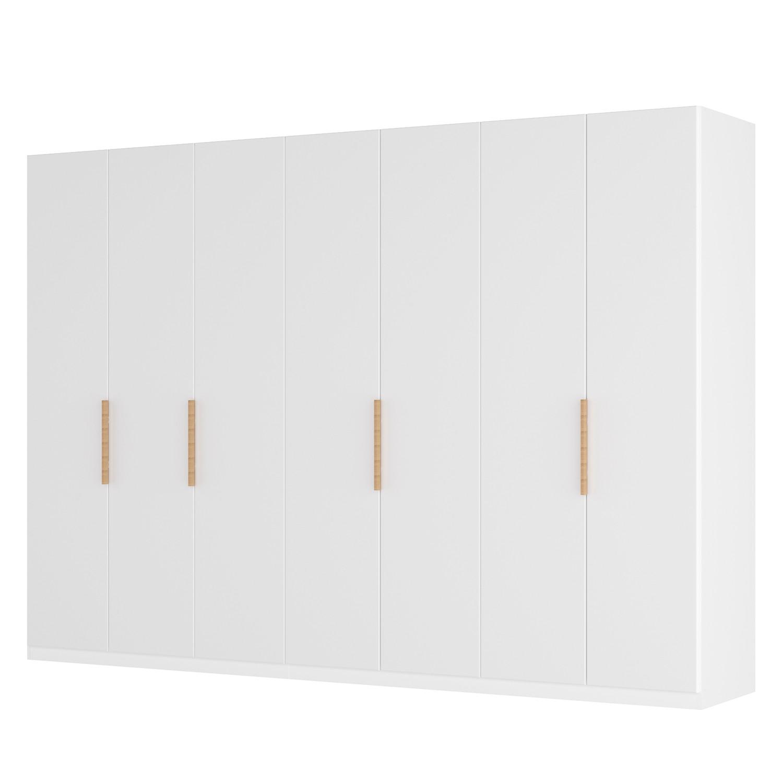 Draaideurkast Skøp I - wit matglas - 315cm (7-deurs) - 236cm - Classic, SKØP