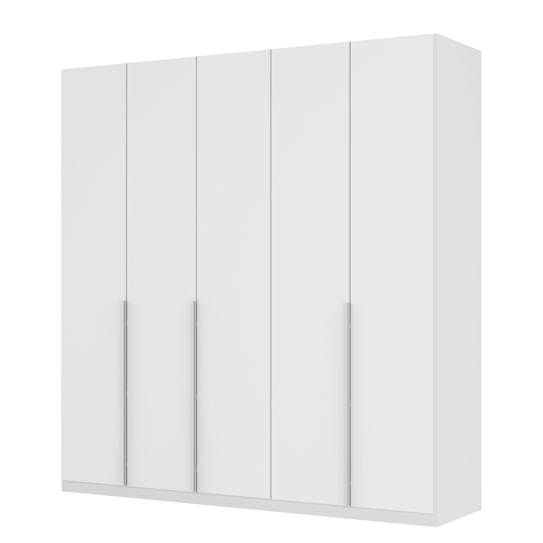Drehtürenschrank SKØP II - Mattglas Weiß - 225 cm (5-türig) - 236 cm - Classic