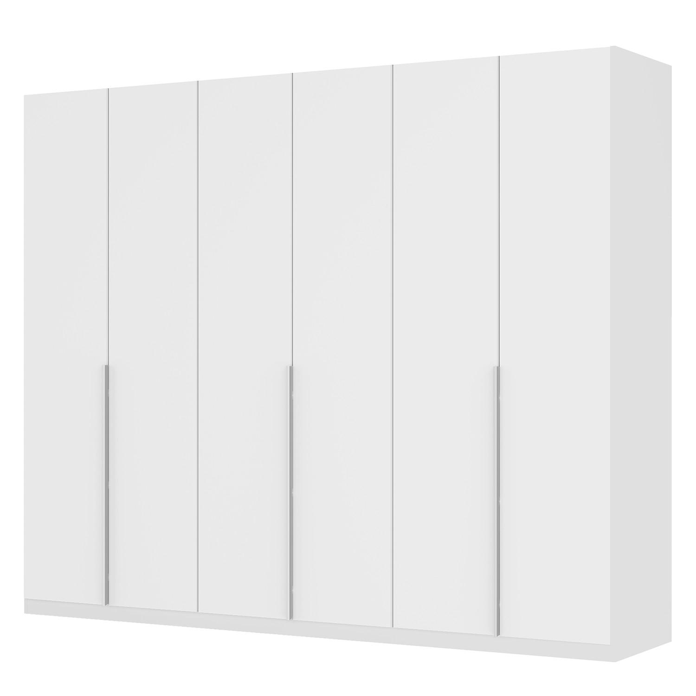 Drehtürenschrank SKØP II - Mattglas Weiß - 270 cm (6-türig) - 222 cm - Classic