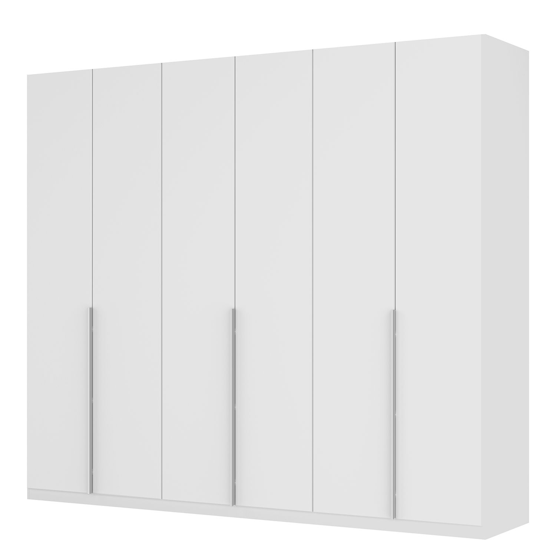 Drehtürenschrank SKØP II - Mattglas Weiß - 270 cm (6-türig) - 236 cm - Premium