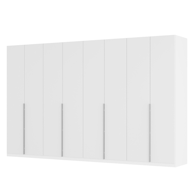 Drehtürenschrank SKØP II - Mattglas Weiß - 360 cm (8-türig) - 222 cm - Classic