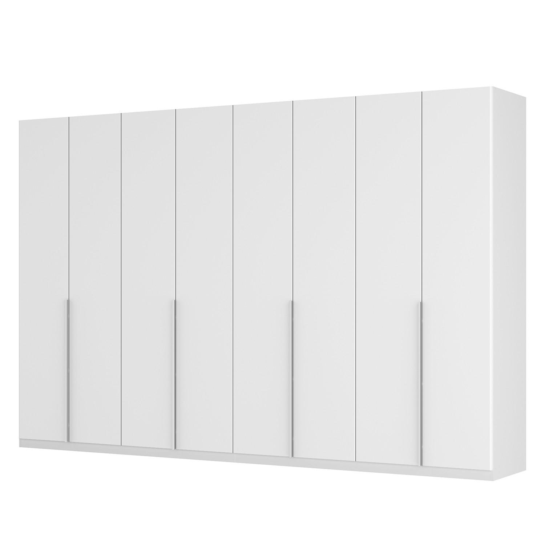 Drehtürenschrank SKØP II - Mattglas Weiß - 360 cm (8-türig) - 236 cm - Basic