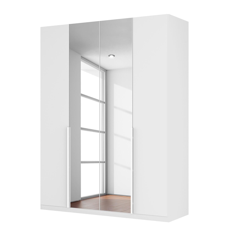 armoire portes battantes sk p ii verre blanc mat miroir en cristal. Black Bedroom Furniture Sets. Home Design Ideas